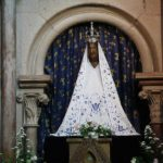 Statue of the Black Madonna in Dijon, France