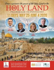 Holy Land pilgrimage with Hector Molina