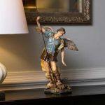 Statue os Faint Michael available in the Catholic Travel Guide Store