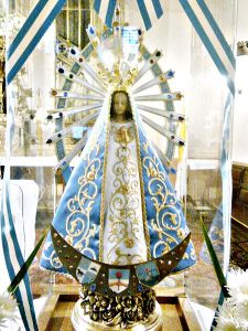 Statue of the Virgin of Lujan, Patroness of Argentina