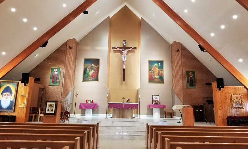 St. Joseph Maronite Church in Phoenix, Arizona