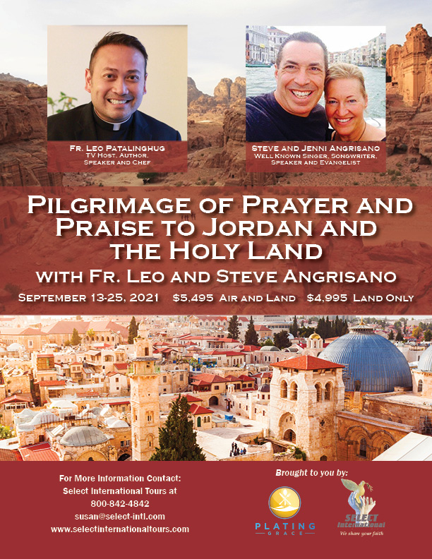 Jason Evert tour to the Holy Land from Select International Tours