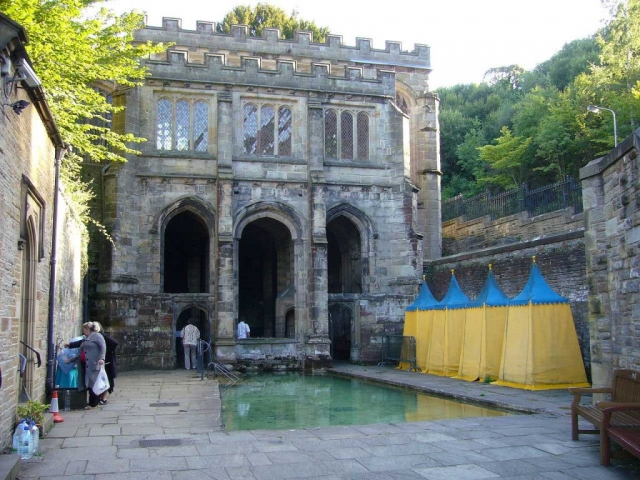 The Bathing Pool at Holywell, Wales